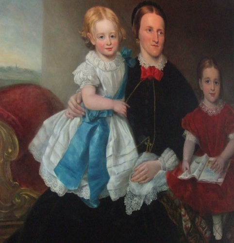 Eliza Ann Reade and her two grand-daughters
